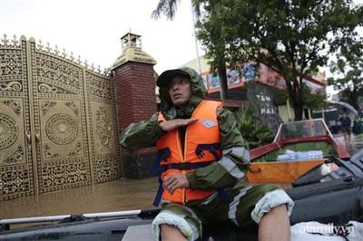 Anh Trần Văn Hải xúc động kể về thời điểm nước ngập sâu