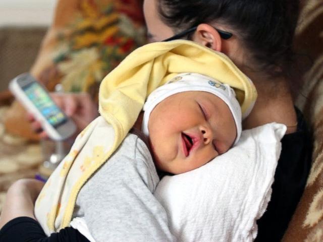 Cậu bé Leo vừa chào đời thì được chẩn đoán mắc hội chứng Down.