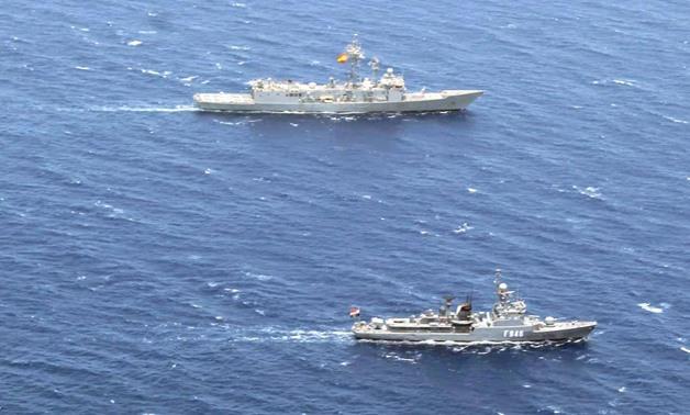 Hải quân Ai Cập và Tây Ban Nha đã tiến hành một cuộc tập trận quân sự chung thứ hai ở Biển Đỏ. Ảnh minh họa: egypttoday.com