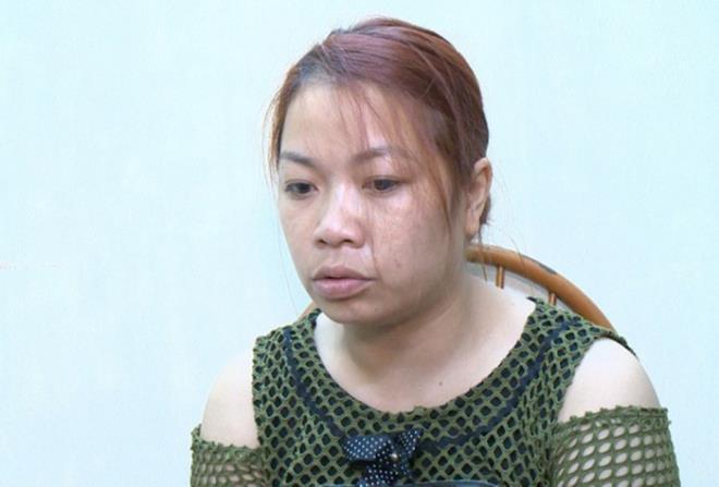 Bị cáo Nguyễn Thị Thu thời điểm bị công an bắt giữ. Ảnh: VTC News