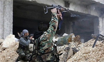 Khủng bố IS đột kích vào căn cứ Quân đội Syria buộc Nga phải tiếp ứng. Ảnh minh họa