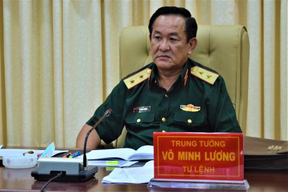 Trung tướng Võ Minh Lương vừa được Thủ tướng Chính phủ Nguyễn Xuân Phúc ký Quyết định bổ nhiệm Thứ trưởng Bộ Quốc phòng. Ảnh: sggp.org.vn