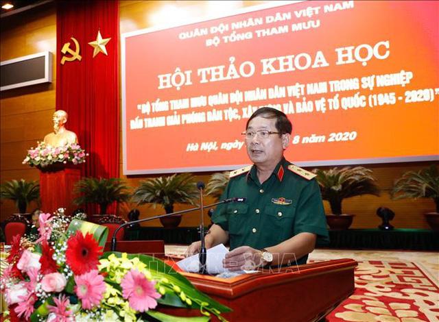 Thượng tướng Lê Huy Vịnh, Phó Tổng tham mưu trưởng Quân đội nhân dân Việt Nam. Ảnh: Dương Giang/TTXVN