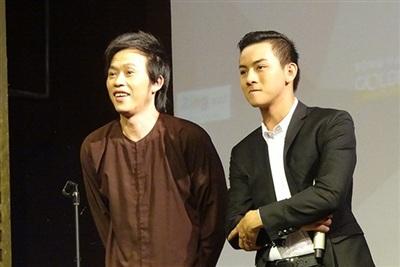 Hoài Lâmvà ba nuôi Hoài Linh.