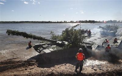 Binh sĩ Trung Quốc trong cuộc tập trận chung với Nga. Ảnh: EPA-EFE