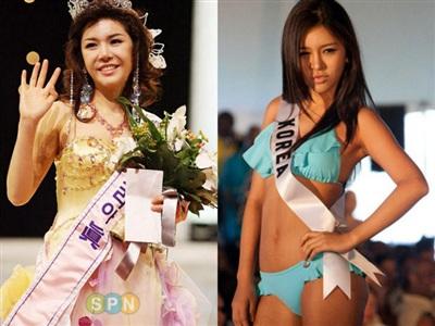 Bên cạnh đó, một số nàng Hoa hậu bị nghi ngờ đụng chạm 'dao kéo' sau khi đăng quang. Đơn cử như Hoa hậu Hàn Quốc 2008 Seon Nari. Chỉ khoảng 1 năm sau ngày đăng quang, cô như lột xác thành người khác