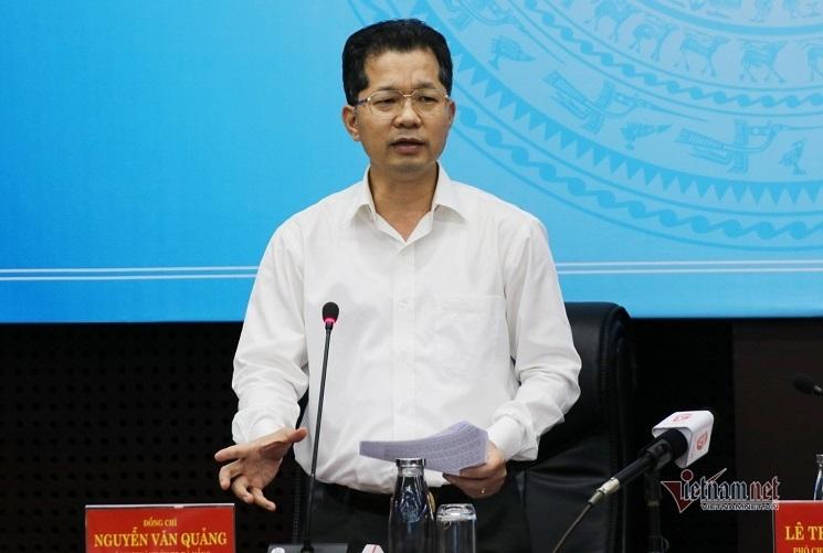 Bí thư Thành ủy Đà Nẵng Nguyễn Văn Quảng yêu cầu tất cả các sở, ngành vào cuộc phòng, chống bão hiệu quả