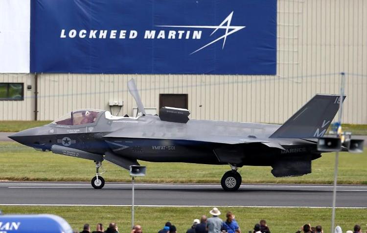Lockheed Martin nằm trong nhóm bị Trung Quốc cảnh báo trừng phạt. Ảnh: Reuters