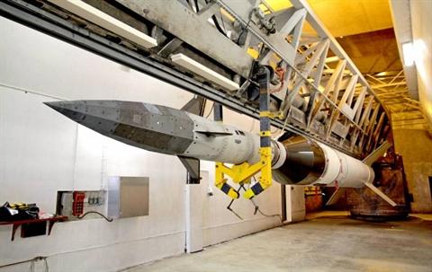 Mỹ đang tích cực tham gia vào cuộc đua phát triển vũ khí siêu thanh với Nga và Trung Quốc