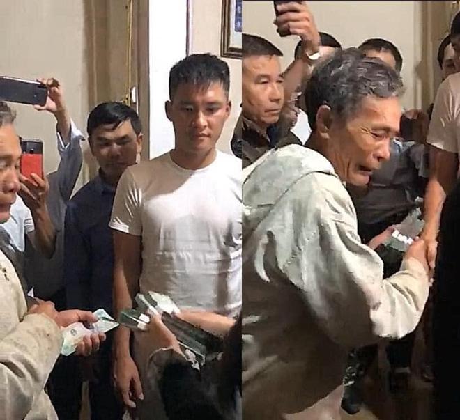 Người đàn ông nghèo nhận 200 triệu từ vợ chồng Thủy Tiên.
