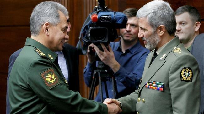 Hai Bộ trưởng BQP Nga và Iran gặp nhau tại Moscow cách đây không lâu.