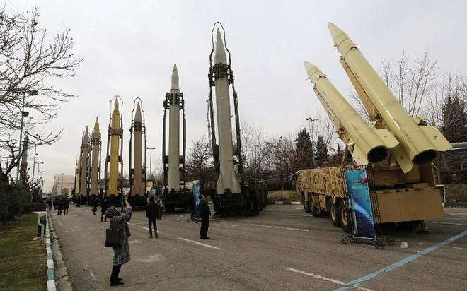 Các loại tên lửa đạn đạo do Iran tự chế tạo.