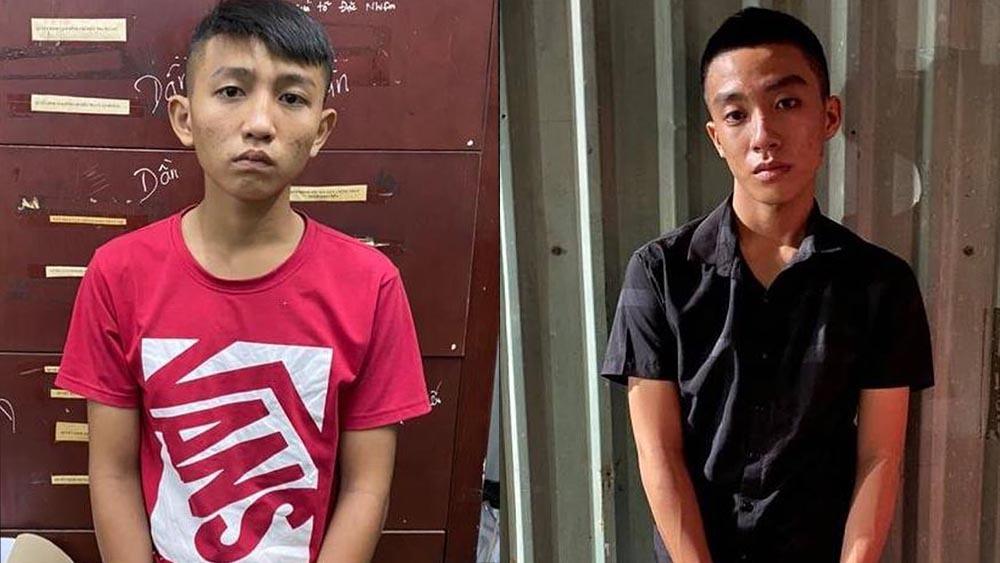 Hai kẻ giật túi xách bị bắt giữ