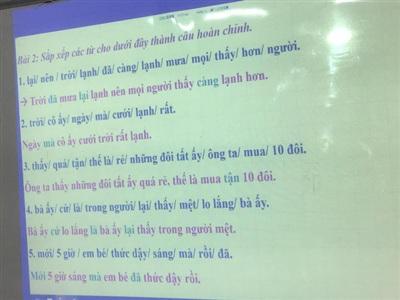 Đọc đáp án xong lại càng 'trầm cảm' vì nghi ngờ thêm kiến thức tiếng Việt của mình!