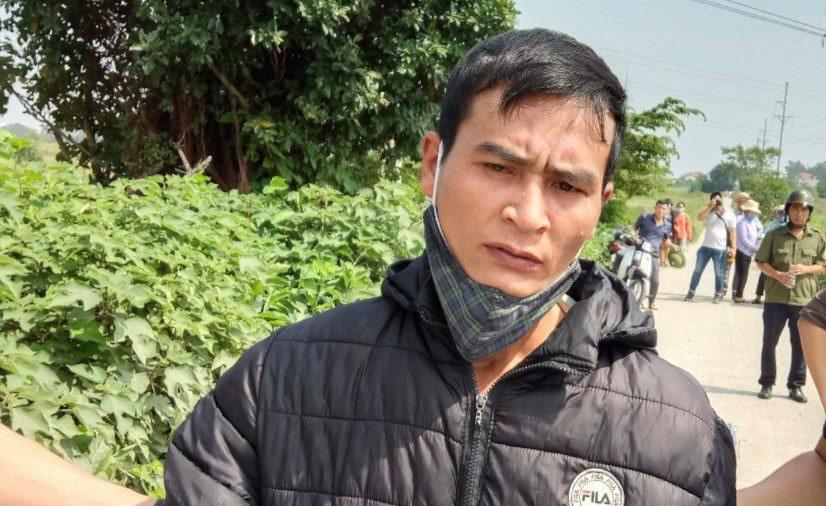 Bị can Nguyễn Xuân Trung