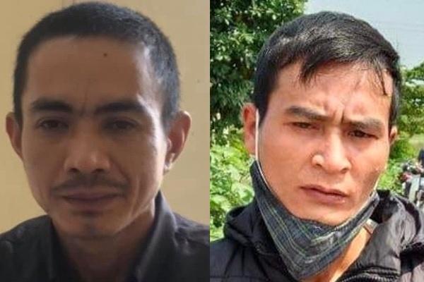 Hai đối tượng gây án đã bị cơ quan công an bắt.