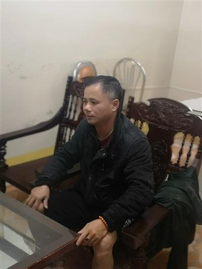 Đối tượng Lâm tại cơ quan điều tra