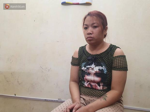 Đối tượng Nguyễn Thị Thu bị bắt giữ sau khi bỏ trốn đến tỉnh Tuyên Quang.