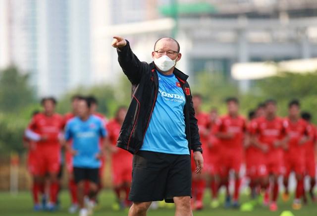 HLV Park Hang-seo triệu tập 33 cầu thủ U22 Việt Nam.