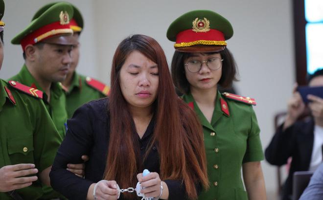 Bị cáo Nguyễn Thị Thu.