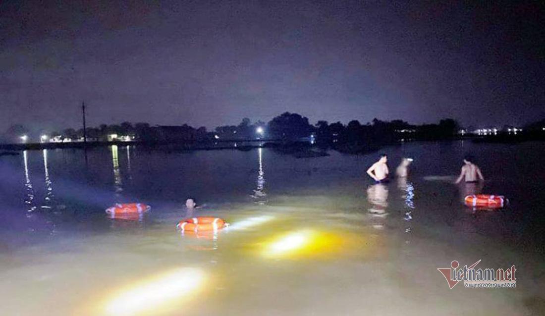 Lực lượng cứu hộ tìm thấy thi thể 2 nạn nhân bị đuối nước ở xã Thanh An, huyện Thanh Chương