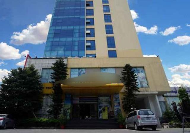 Khách sạn tại phường Tiền Phong - nơi phát hiện sự việc. Ảnh: H.Long