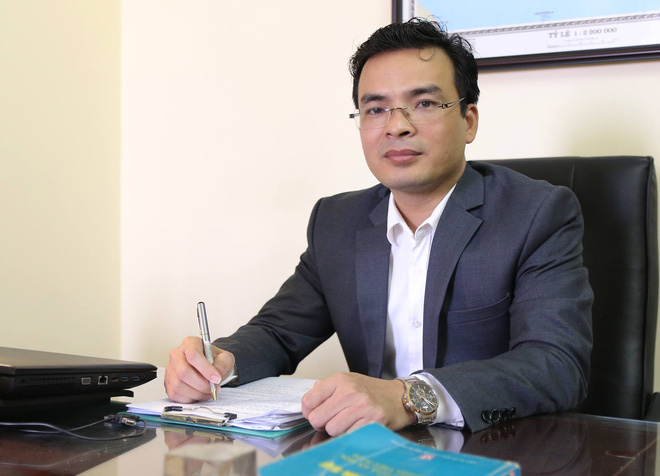 Luật sư Hoàng Trọng Giáp - Giám đốc Công ty luật Hoàng Sa.