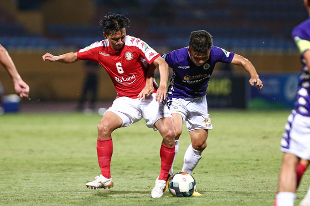 Câu lạc bộ Thành phố Hồ Chí Minh đặt tham vọng vô địch với tân huấn luyện viên người Brazil? (Ảnh: Hiển Nguyễn/Vietnam+)