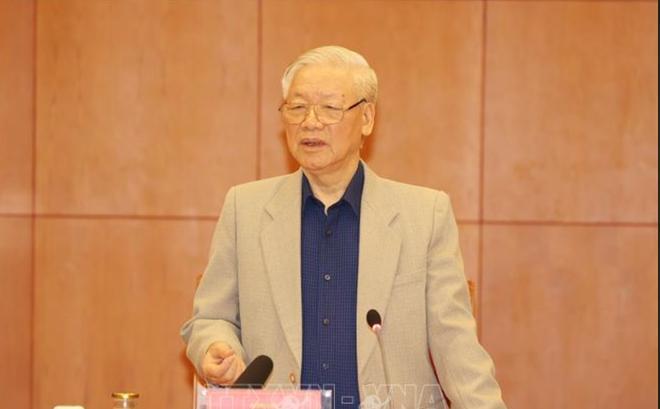 Tổng Bí thư, Chủ tịch nước Nguyễn Phú Trọng. Ảnh: TTXVN.