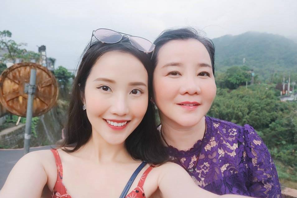 Bà Xuân Trang từng đảm nhận vị trí giám khảo Cuộc thi Hoa hậu Hoàn vũ Việt Nam 2017.
