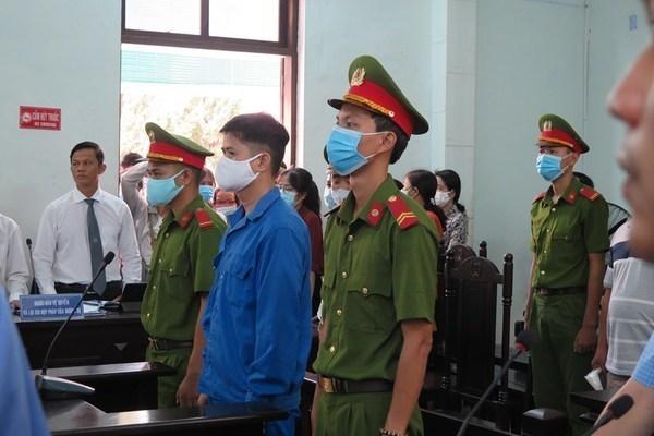 Phiên tòa xét xử bị cáo Phương hồi tháng 9