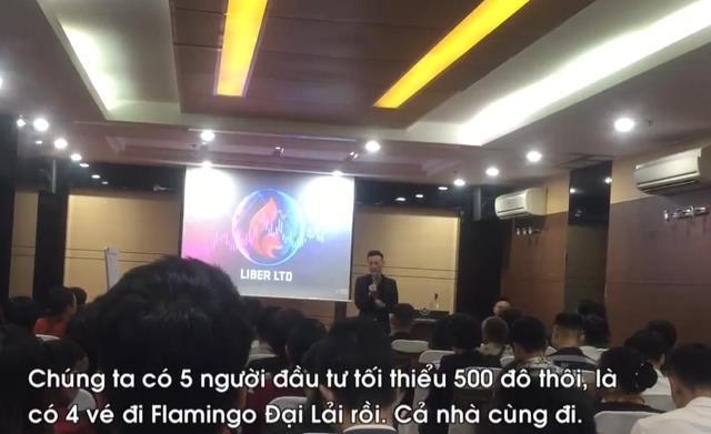 Liber thường xuyên tổ chức các hội thảo để giới thiệu, mời gọi người chơi, thu hút hàng trăm người tham gia.