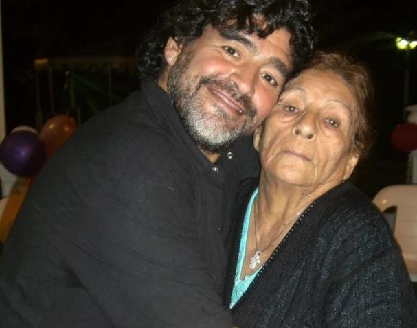 Diego nói rất nhớ mẹ của mình