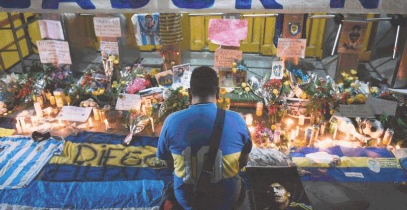 Người dân Argentina tiếc thương sự ra đi của Diego Maradona