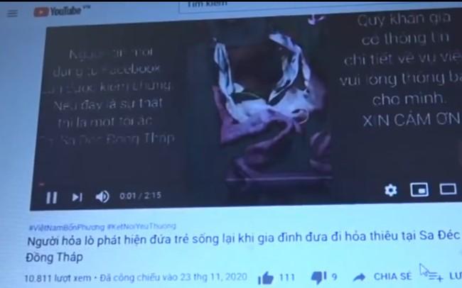 Hình ảnh đoạn clip gây hoang mang dư luận