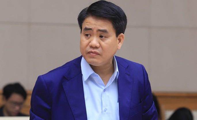 Ông Nguyễn Đức Chung khi còn đương chức