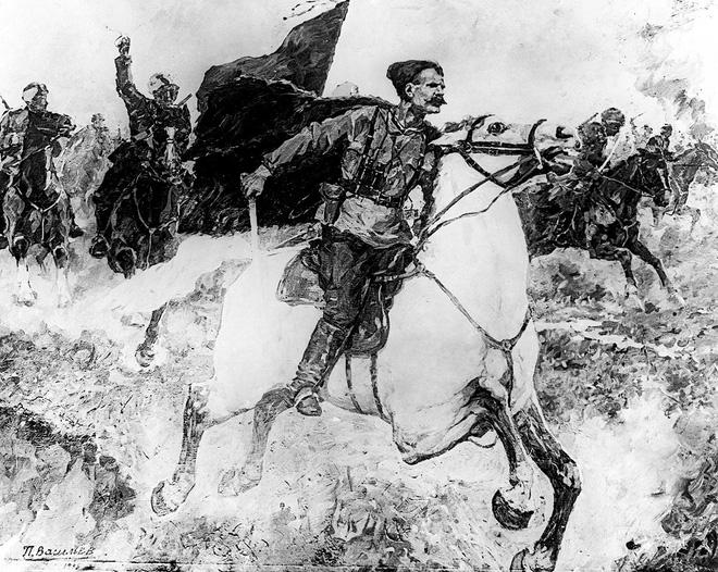 Chapayev ra trận năm 1937. Ảnh: Tass