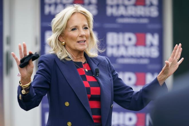 Bà Jill Biden - vợ ông Biden dự kiến sẽ trở thành đệ nhất phu nhân Mỹ.