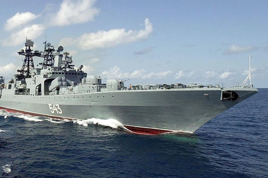 Marshal Shaposhnikov sẽ là thay đổi cán cân sức mạnh ở khu vực châu Á – Thái Bình Dương. Nguồn: people.com.cn.