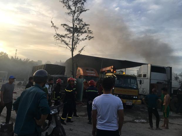 Cảnh sát PCCC nhanh chóng có mặt để dập lửa