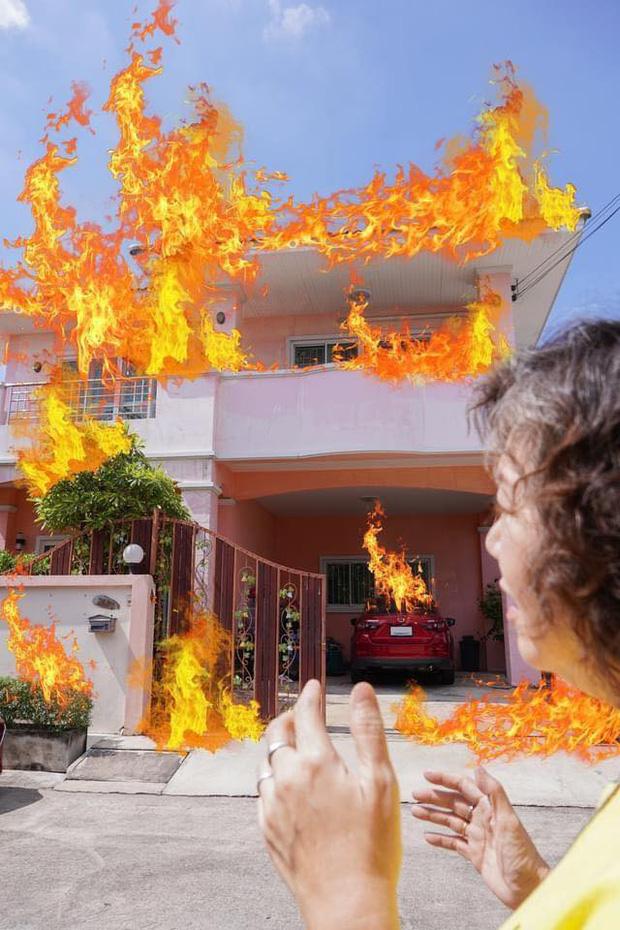 Ối ối, lửa cháy to quá bà con ơi