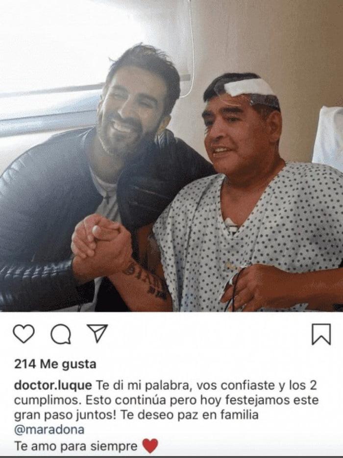 Maradona và Leopoldo
