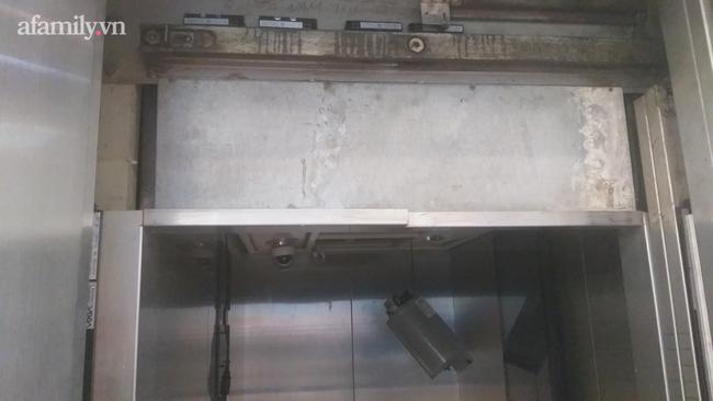 Thang máy rơi tự do xuống tầng 1