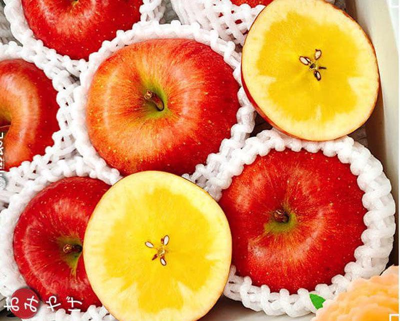 Về đến Việt Nam, táo mật Nhật vip có giá lên tới 4,5 triệu đồng/hộp