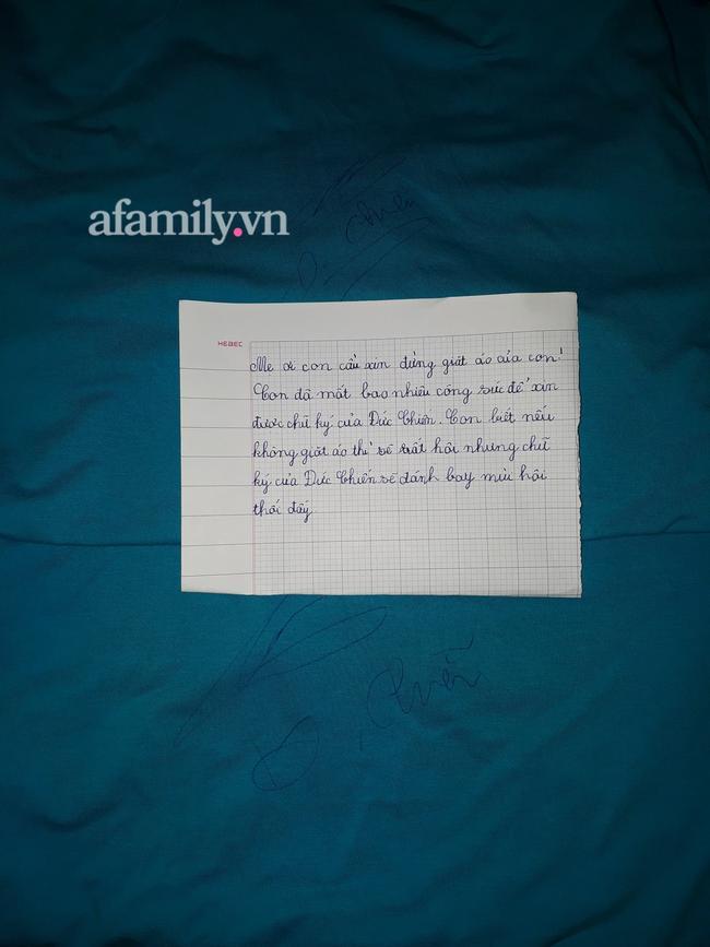 Bức thư của Bảo Minh.