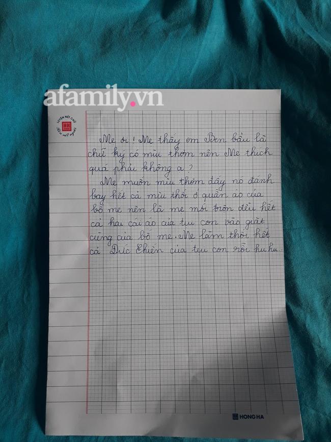 Bức thư của Bảo An.