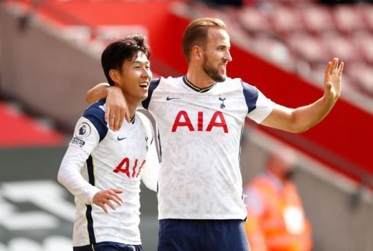 Son Heung Min cùng Harry Kane đang có mùa giải tuyệt vời cùng Tottenham