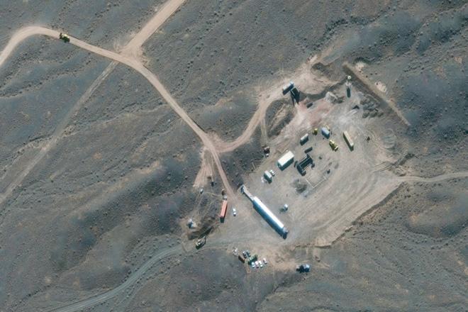 Nhà máy hạt nhân Natanz của Iran. Ảnh: NYT