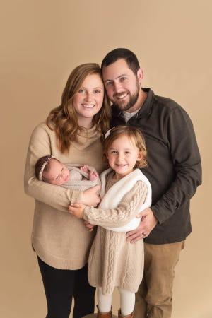 Gia đình Gibson (Ảnh: Haleigh Crabtree Photography)