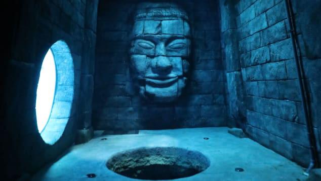 Deepspot có các hang động nhân tạo dưới nước và dấu tích của người Maya để thợ lặn có cơ hội khám phá
